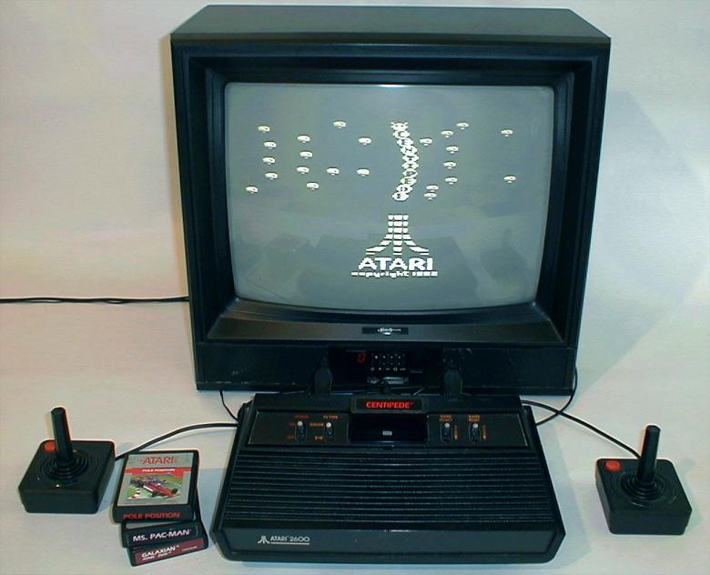 Console à l'ancienne Col-atari2600